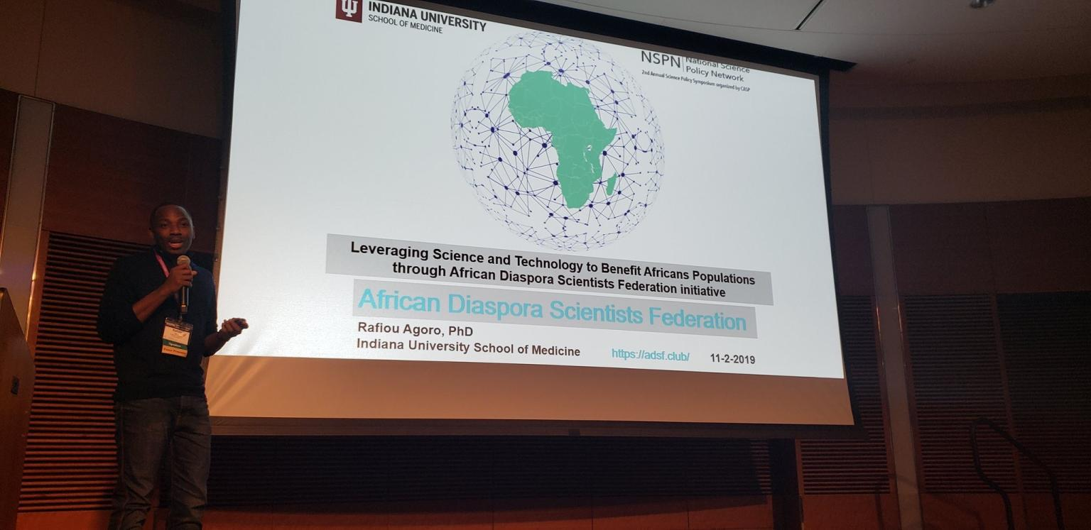 Leveraging Science and Technology to Benefit Africans Populations through African Diaspora Scientists Federation initiative